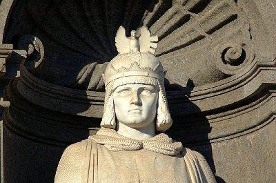 Frederik II van Hohenstaufen; Royal Palace, Naples (Campania, Italy)