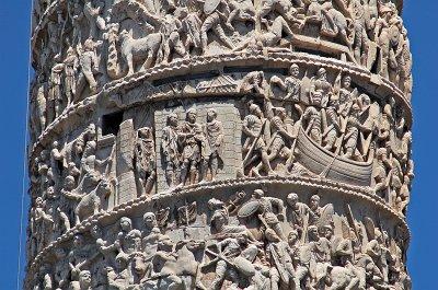 Zuil van Trajanus (Rome, Italië); Trajan