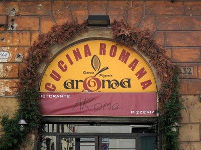 Restaurant in Rome; Restaurant in Rome