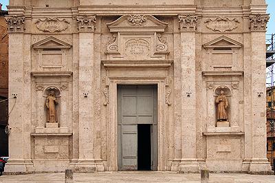 Santa Maria in Provenzano, Siena, Toscane, Italië; Santa Maria in Provenzano, Siena, Tuscany, Italy