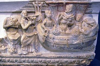 Guarnacci Museum in Volterra (Toscane, Italië); Guarnacci Museum in Volterra (Tuscany, Italy)