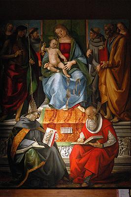 Pinacotheek en stadsmuseum van Volterra (Italië); Pinacotheca and city museum of Volterra (Italy)