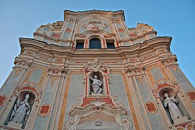 Chiesa di San Giovanni Battista, Cervo (Liguria); Church of Saint John the Baptist, Cervo (Liguria)