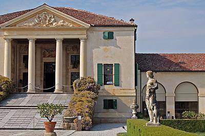 Villa Emo, Fanzolo (Vedelago), Veneto, Italië; Villa Emo, Veneto, Italy