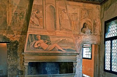 Huis van Petrarca, Arquà Petrarca (Veneto, Italië); Petrarch