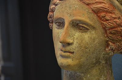 Archeologisch museum Melfi (Basilicata, Italië); Archaeological museum, Melfi (Basilicata, Italy)