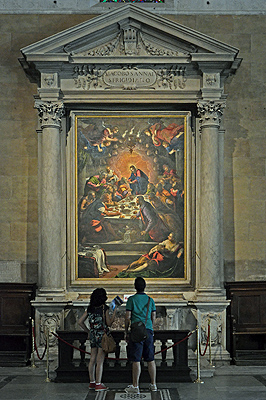 Tintoretto, Laatste Avondmaal, Dom van Lucca; Lucca Cathedral, Lucca, Tuscany, Italy