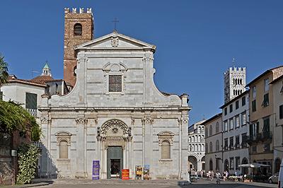 Santi Giovanni e Reparata, Lucca, Toscane, Italië; Saint John and Saint Reparata, Lucca, Italy