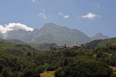 Nicciano, Garfagnana, Toscane, Italië; Nicciano, Garfagnana, Tuscany, Italy