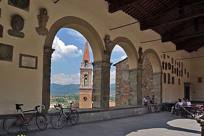 Castiglion Fiorentino,Toscane, Italië; Castiglion Fiorentino,Tuscany, Italy