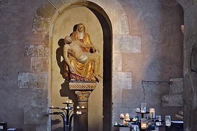 Abdijkerk van Sainte-Foy, Conques, Frankrijk; Abbey Church of Saint Foy, Conques, France