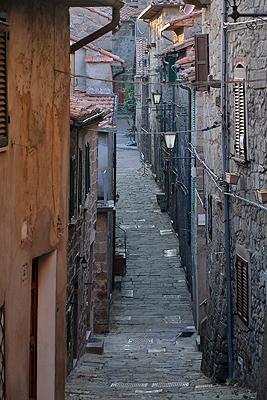 Santa Fiora, Toscane, Italië; Santa Fiora, Tuscany, Italy