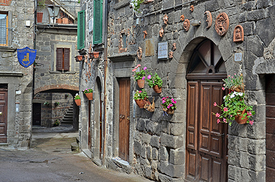 Abbazia di San Salvatore, Toscane, Italië; Abbazia di San Salvatore, Tuscany, Italy