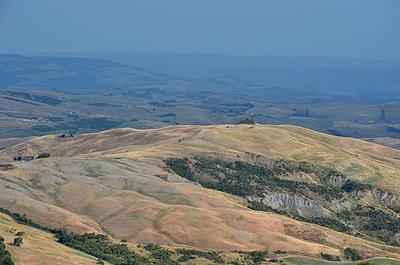 Landschap in het Val d