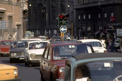 Corso Vittorio Emanuele, Rome; Corso Vittorio Emanuele, Rome, Italy