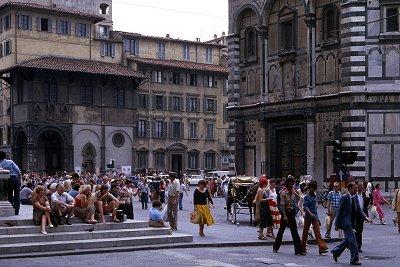 Baptisterium, Florence; Baptistery, Florence, Tuscany, Italy