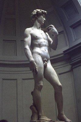 David van Michelangelo (Florence, Italië); David by Michelangelo (Florence, Italy)