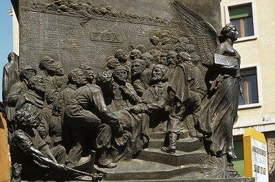 Monument voor Giuseppe Garibaldi (Pisa, Italië); Monument for Giuseppe Garibaldi (Pisa, Italy)