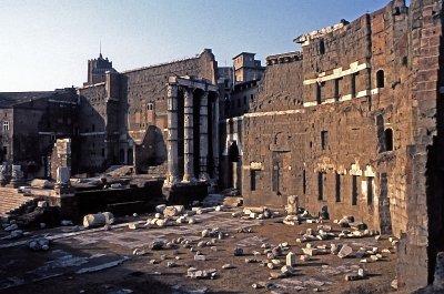 Forum van Augustus, Rome, Lazio, Italië; Forum of Augustus, Rome, Latium, Italy