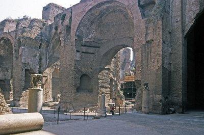 Thermen van Caracalla, Rome, Lazio, Italië; Baths of Caracalla, Rome, Latium, Italy
