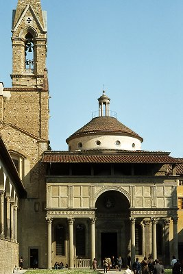 Pazzi-kapel, Florence; Pazzi chapel, Florence