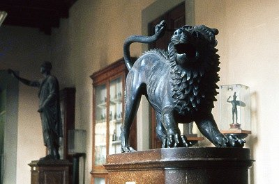 Chimaera van Arezzo (Florence, Italië); Chimera of Arezzo (Florence, Italy)