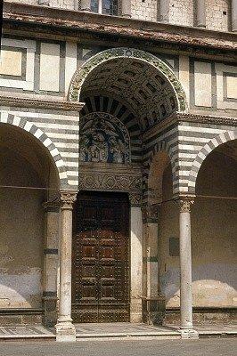 San Zeno kathedraal (Pistoia, Toscane, Italië); San Zeno Cathedral (Pistoia, Tuscany, Italy)