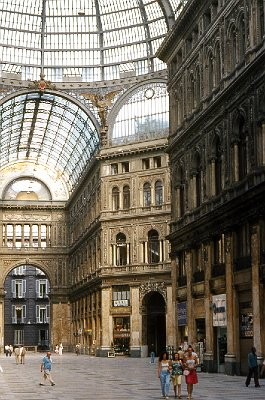 Galleria Umberto I, Napels (Campanië); Galleria Umberto I, Naples (Campania, Italy)