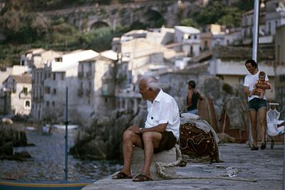 Chianalea (Scilla), Calabrië, Italië; Chianalea (Scilla), Calabria, Italy