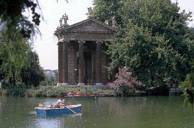 Villa Borghese (Rome, Italië); Villa Borghese gardens (Rome, Italy)