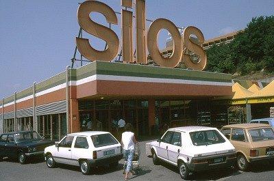 Silos supermarkt (Rome, Italië); Silios supermarket (Rome, Italy)