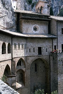 Klooster van Subiaco (Lazio, Italië); Monastery of Subiaco (Lazio, Italy)