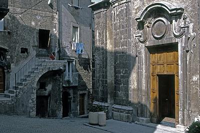 Scanno (AQ, Abruzzen, Italië); Scanno (AQ, Abruzzo, Italy)