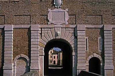 Porta Vittoria, Sabbioneta (Lombardia, Italia); Porta Vittoria, Sabbioneta (Lombardije. Italië)