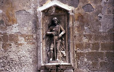 Heilige Eustachius, Matera (Basilicata, Italië); Saint Eustace, Sassi di Matera (Basilicata, Italy)