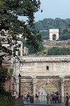 Triomfbogen op het Forum Romanum (Rome); Triumphal arches on the Roman Forum