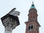 Marcusleeuw en Torre dei Bissari, Vicenza; Vicenza
