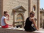 Schilderen in Asolo (TV, Veneto, Italië); Painting in Asolo (TV, Veneto, Italy)