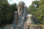 Apennijnenreus (Villa Demidoff di Pratolino); The Appennine Colossus (Vaglia, Tuscany, Italy)