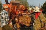 Dorsfeest (Vicchio, Toscane, Italië); Threshing feast (Vicchio, Tuscany, Italy)