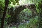 Middeleeuwse brug (San Godenzo, Toscane); Medieval bridge (San Godenzo, Tuscany)