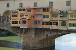 Ponte Vecchio (Florence, Toscane, Italië).; Ponte Vecchio (Florence, Tuscany, Italy).