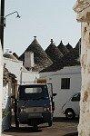Vespacar in Alberobello (Apulië, Italië); Vespacar in Alberobello (Apulia, Italy)