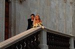Pas getrouwd (Giovinazzo, Apulië, Italië); Just married (Giovinazzo, Apulia, Italy)