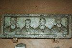 Kruisgang van Lateranen (Rome, Italië); Roman funerary relief (Rome, Italy)