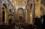 Chiesa di San Luigi dei Francesi, Rome, Italië; Church of St. Louis of the French, Rome, Italy
