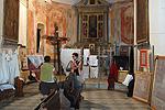 Oratorium van Bajardo (IM, Ligurië, Italië); Oratory of Bajardo (IM, Liguria, Italy)