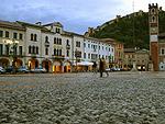 Piazza Castello, Marostica (VI, Veneto, Italië); Piazza Castello, Marostica (VI, Veneto, Italy)