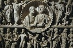 Sarcofaag van de twee broers, Rome, Italië; Two Brothers Sarcophagus, Rome, Italy