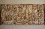 Romeinse sarcofaag in het Vaticaans Museum; Roman sarcophagus in the vatican Museum